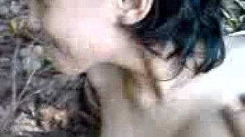 Пацанчик от трахал грудастую муллатку и кончил ей на симпатичное лицо